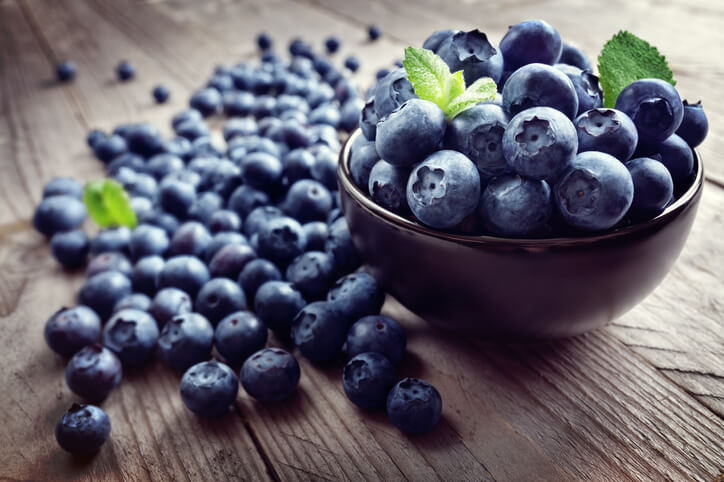 Blueberries for a Healthy Mind