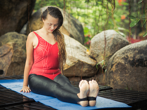 three lowimpact yoga poses and their benefits