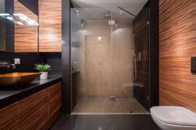 Livable design in bathroom