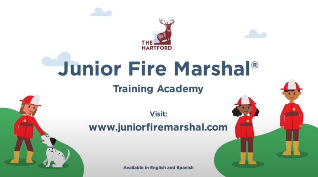Junior Fire Marshal Training Academy