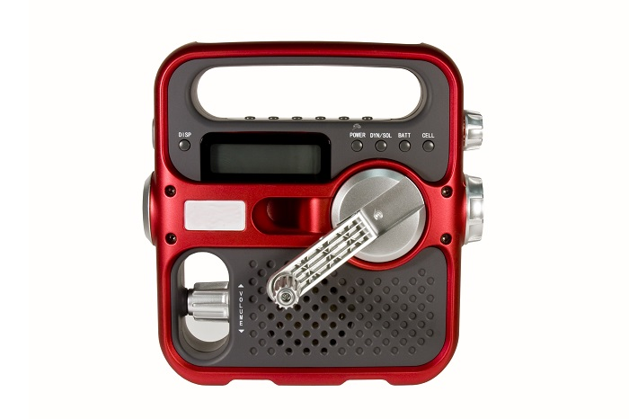 Acquire Batter or Hand Operated Radio for Emergencies