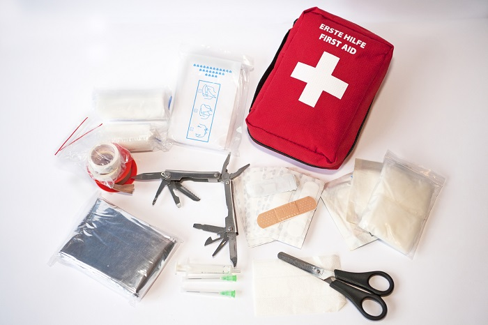 Acquire First Aid Kit for Emergencies
