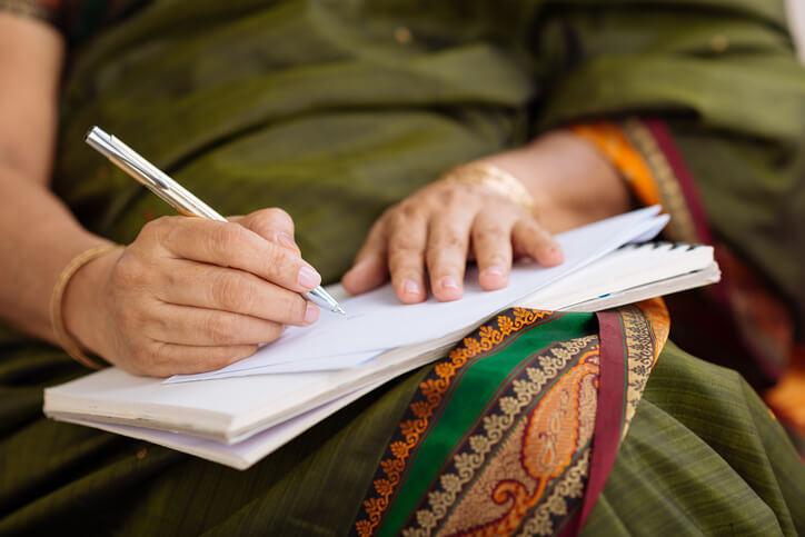 Woman Practices Meditation and Mindfulness to Avoid Sleep Procrastination