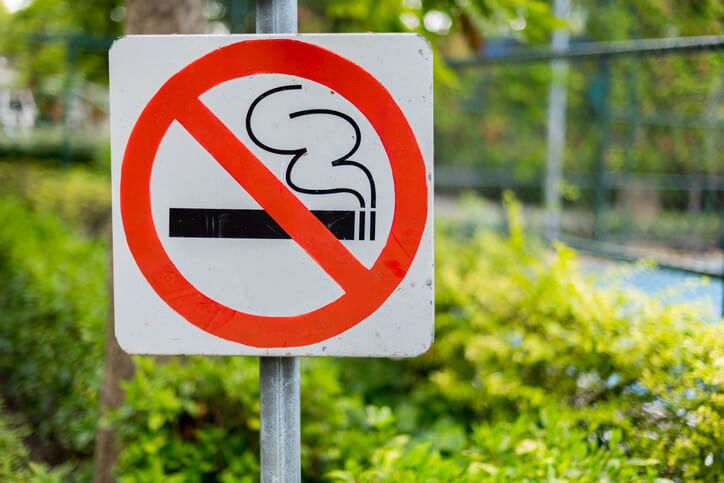 No Smoking First Car