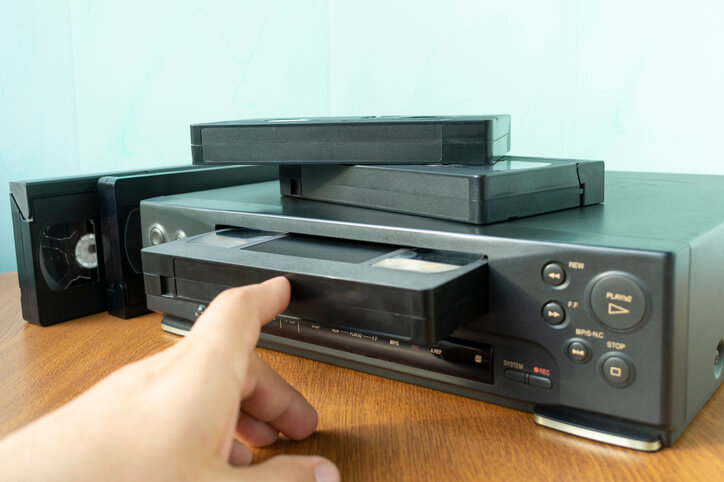 First VCR released gen x