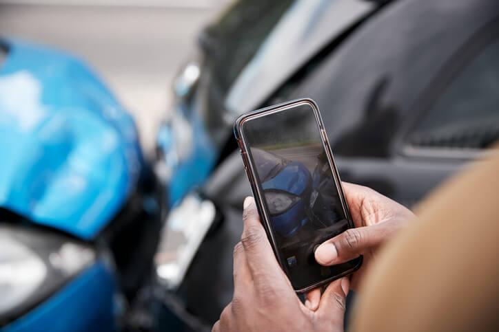 Take Photos of Car Accident Damage