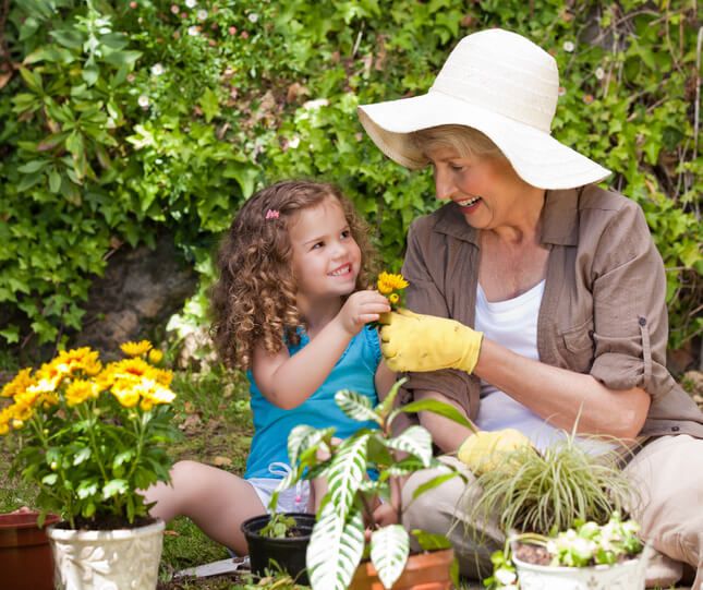 Gardening with Grandchild