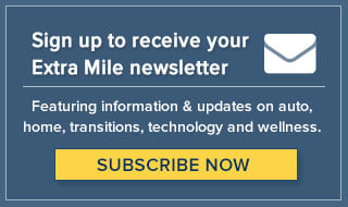 Sign up for the Extra Mile Newsletter