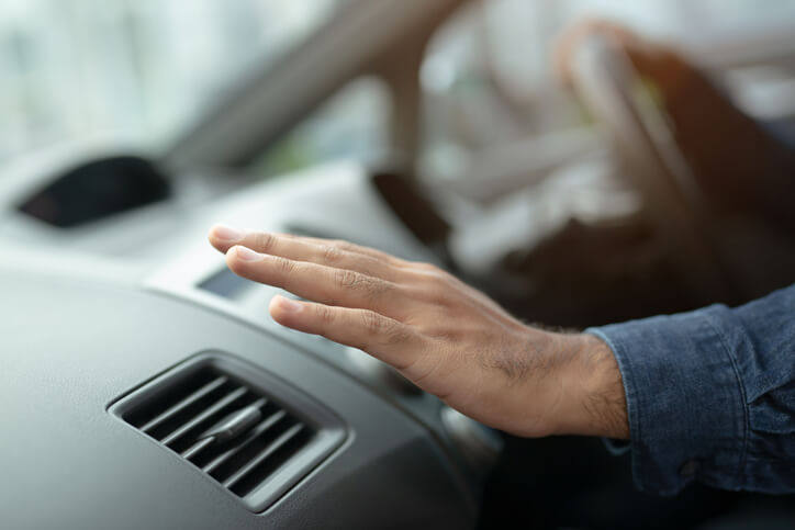 Car Air Conditioning Tip Use Recirculate Setting