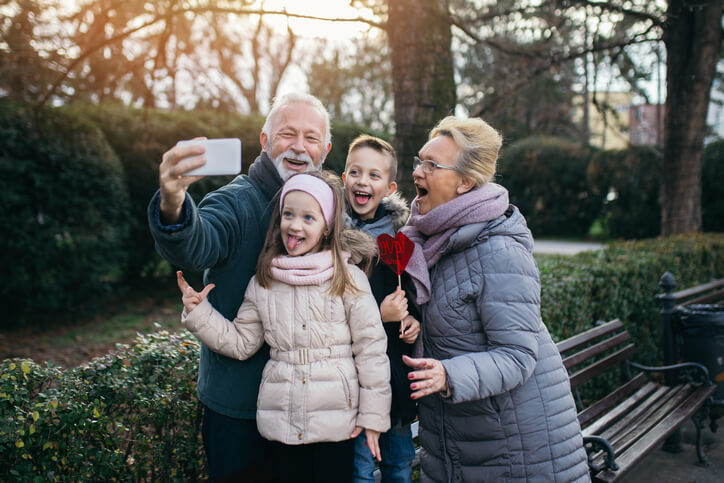 Connecting with Grandchildren