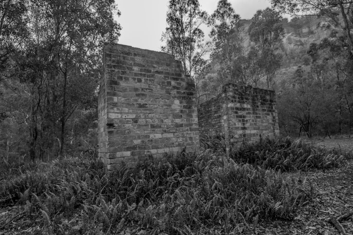 Abandoned Building Remains