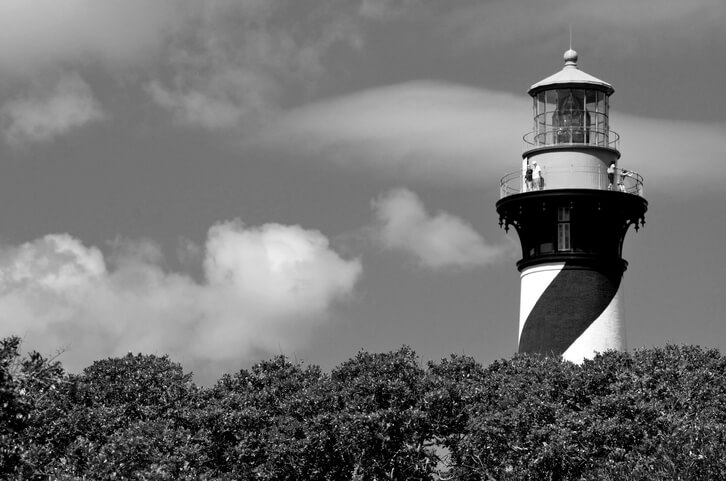 Spooky St Augustine Lighthouse