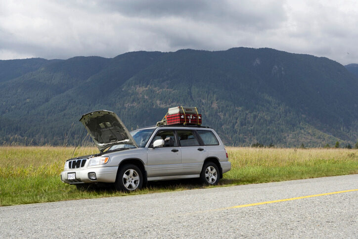 Car with Roadside Assistance