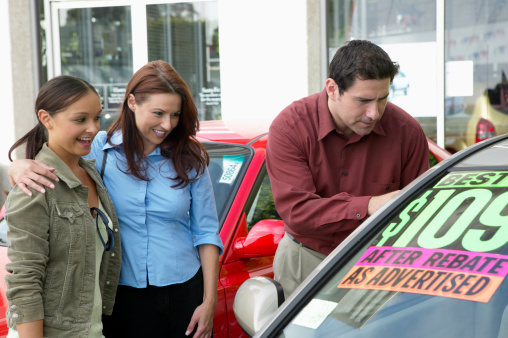 Buying a Vehicle for You and Your Family
