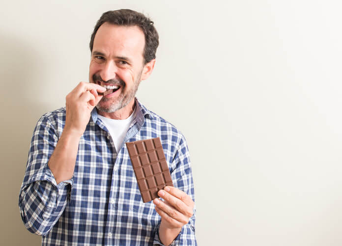 Eat Dark Chocolate for  Healthy Mind