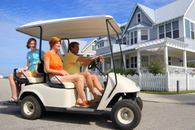 Golf Cart Prep for Spring and Summer