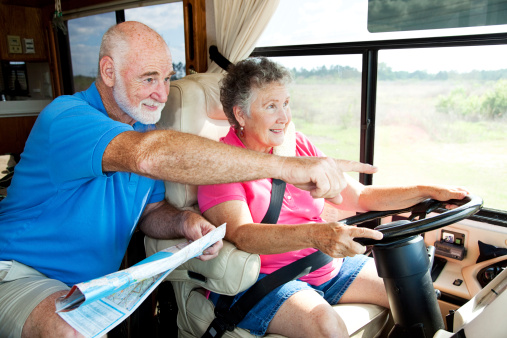 Traveling in a RV