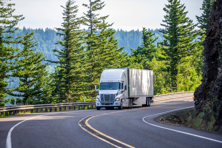 Safe Driving Near Semi Trucks