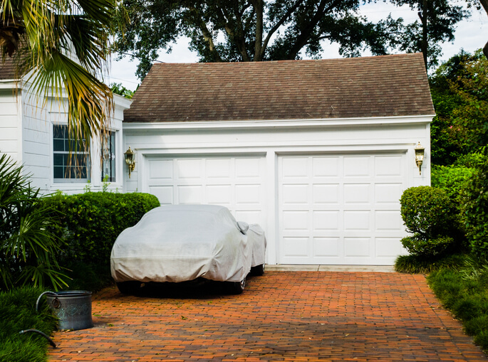 Storing Your Car Under Cover
