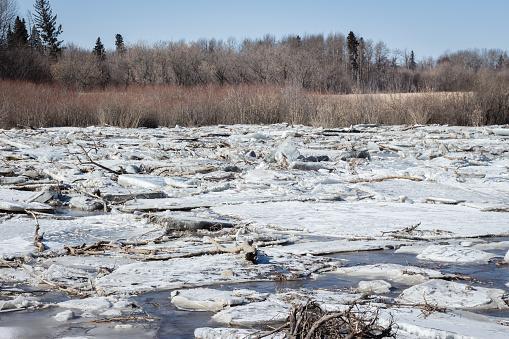Flooding Caused by Ice Jams