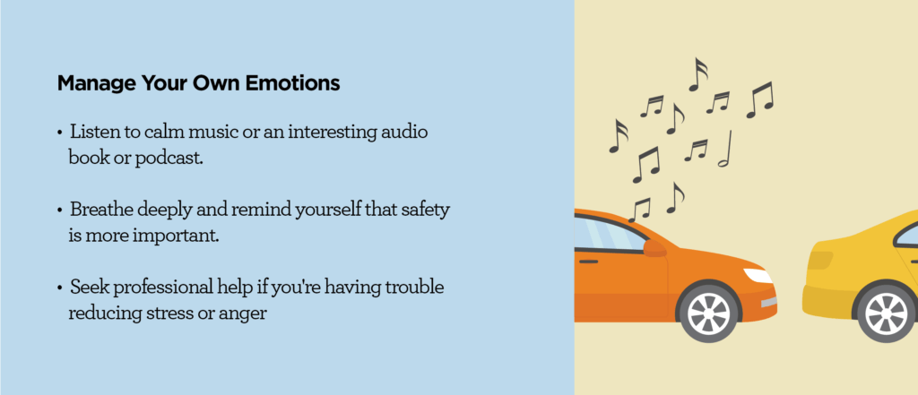 How to Manage Emotions While Driving