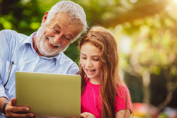 Tips for learning with your grandchild