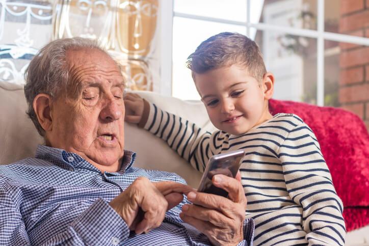 Grandparenting apps