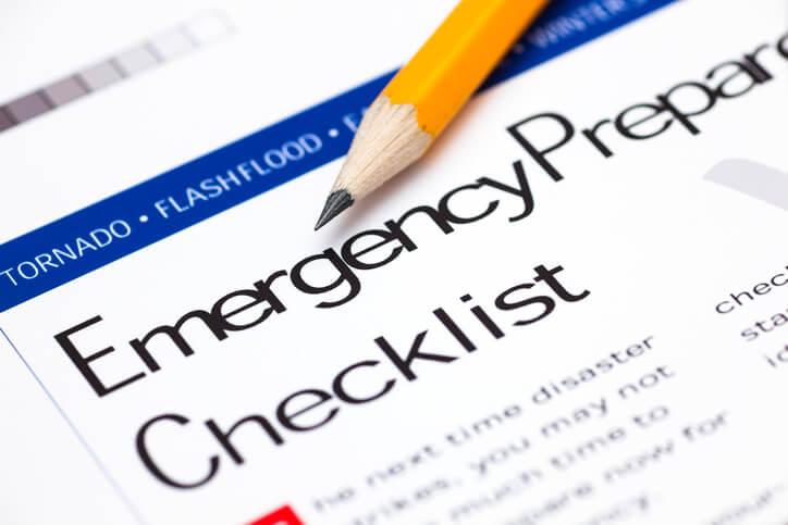 Emergency preparedness for the memory impaired