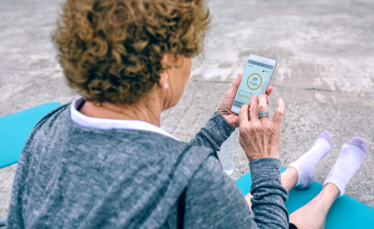 Health tracking mobile apps