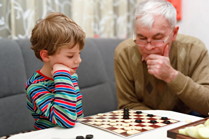 Activities to do with a school-aged grandchild