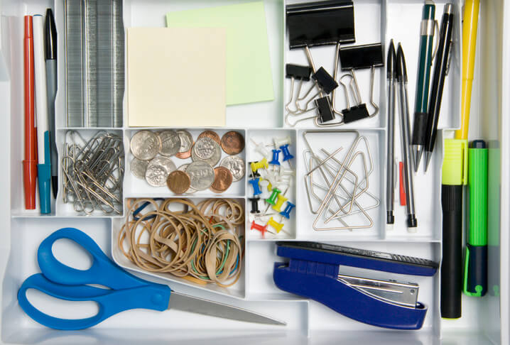 Organizing by gathering items