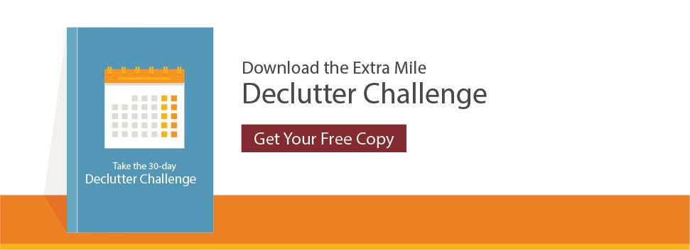 Yard Sale Declutter Checklist CTA