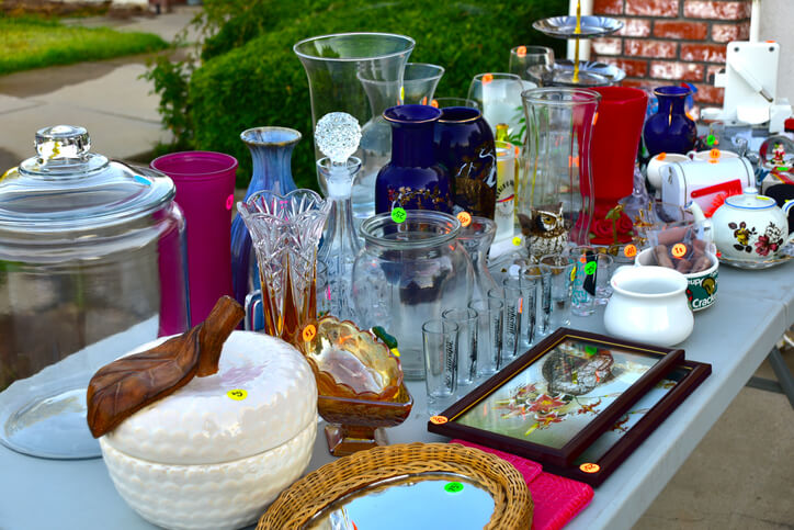 Antiques to look for at garage sales