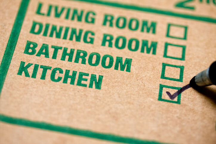 Packing tips for moving by room