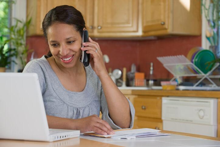 Paying bills via phone