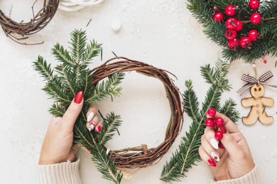 Winter Home Decor DIY Wreath