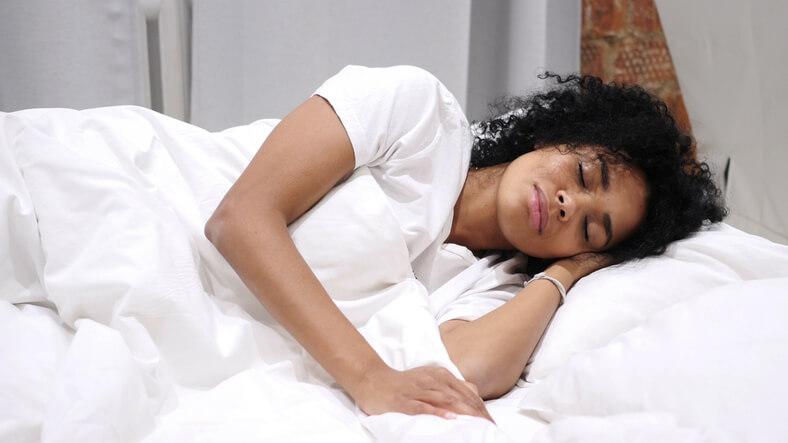 Women Sleeping on Side