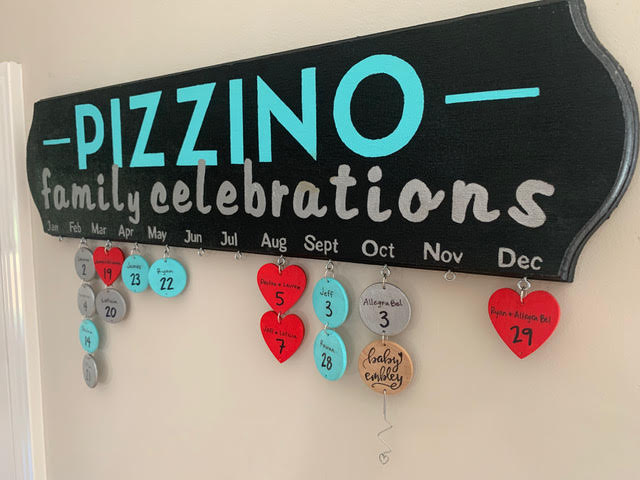 Pizzino Family Plaque