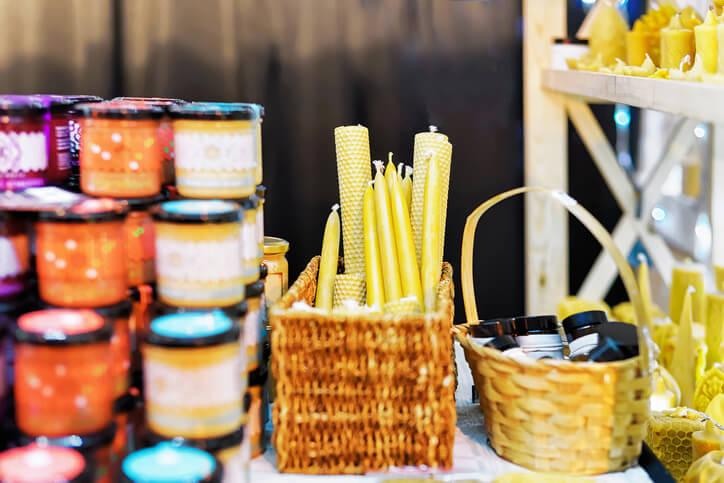 Side Hustle Selling at Craft Fair