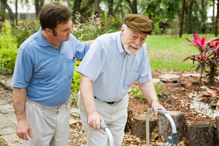 Avoid Caregiver Burnout by Walking